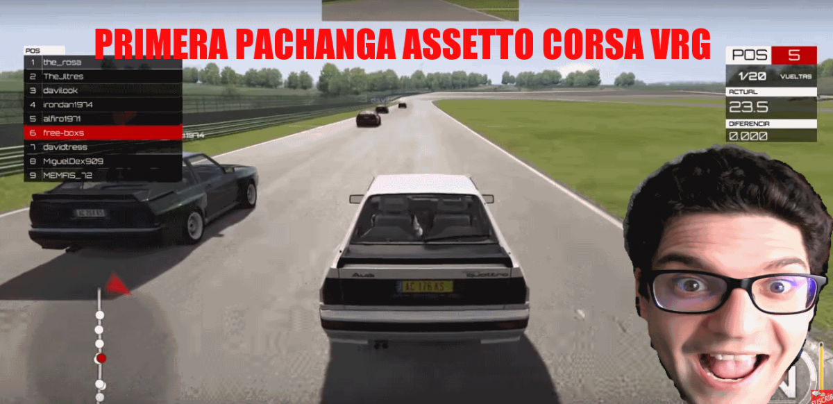 Carrera amistosa assetto corsa