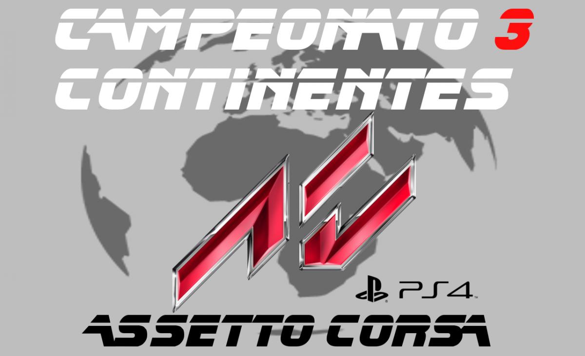 Campeonato Assetto Corsa 3 Continentes