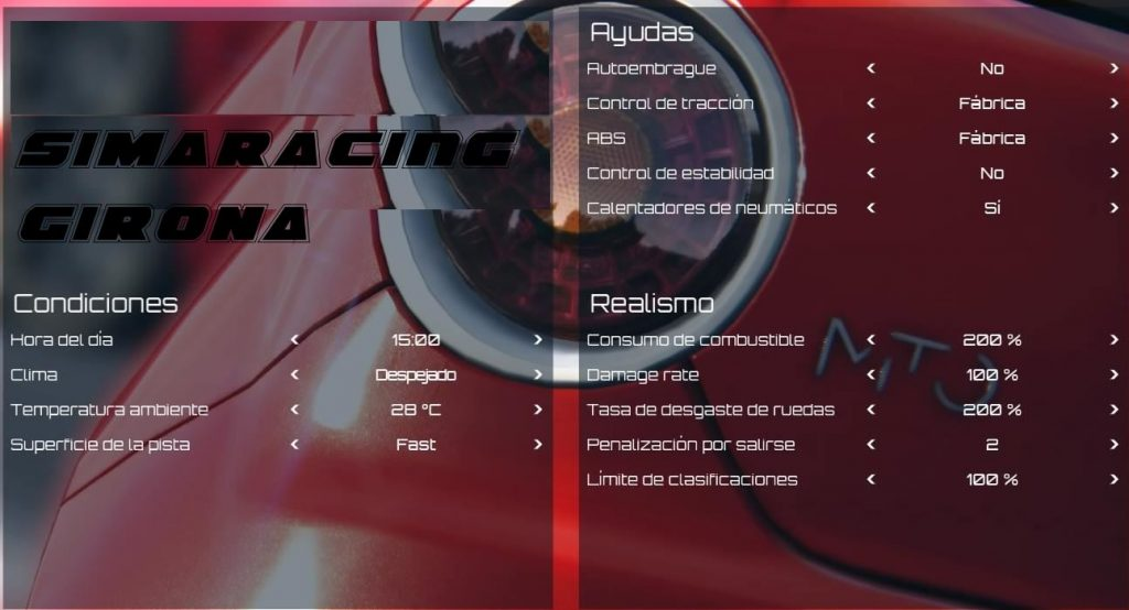 assetto corsa simracing girona ps4