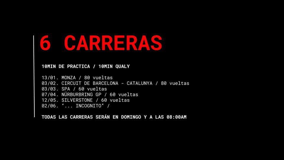 Campeonato coches ps4