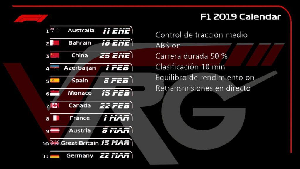 Campeonato formula 1 2018 para ps4