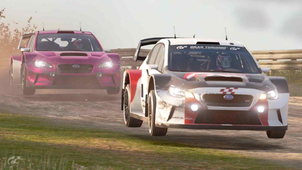 Gran Turismo PS4 virtual racing