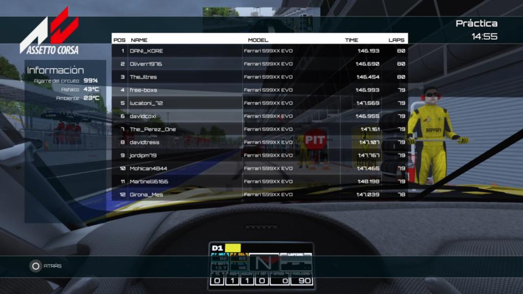 aseto corsa ps4 campeonato online
