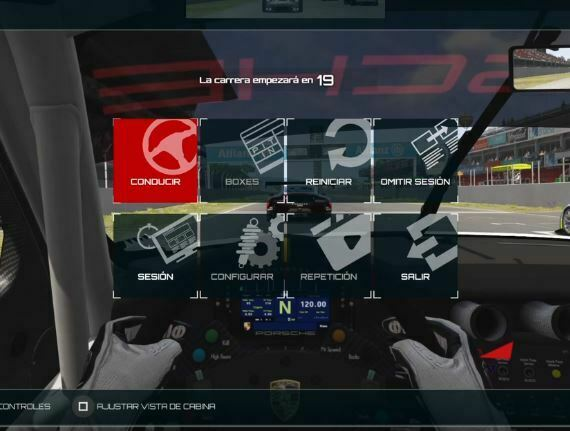 inicio carrera assetto corsa ps4