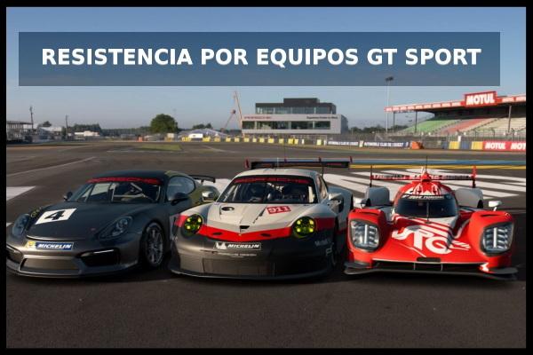 ⚡Resistencia por equipos en Gran Turismo Sport